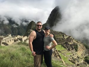 Destination of hike to Machu Picchu